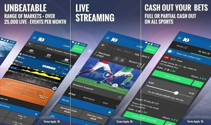 10bet app on Android
