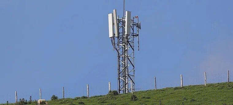 5G phone mast