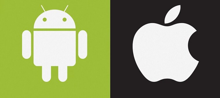 Android and Apple operating system