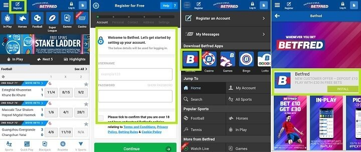 Betfred mobile betting app