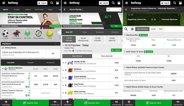 Betway mobile platform