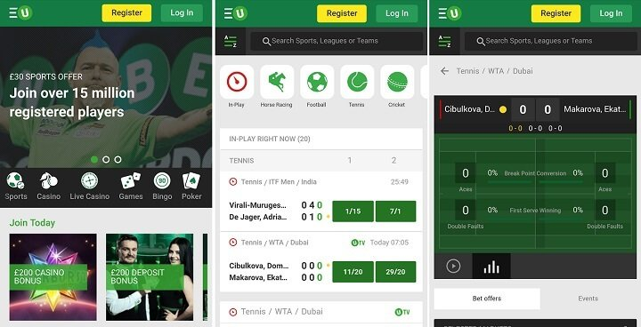 Unibet mobile app download instructions