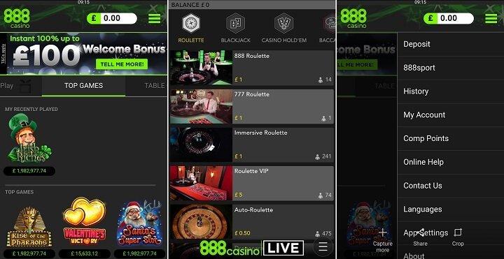 888casino app APK