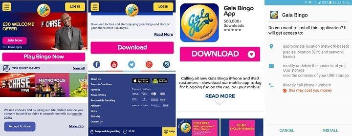 Gala Bingo mobile review