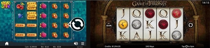 New games on the CasinoLuck app