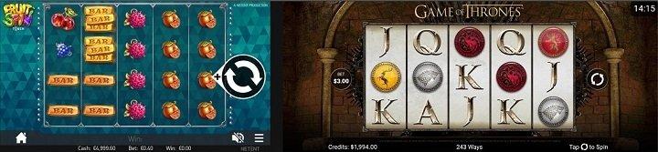 New games on the CasinoLuck app