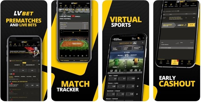 LVBet app for Android