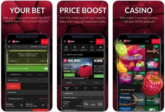 MansionBet mobile app for iOS & Android