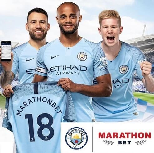 Betting partner of Man City