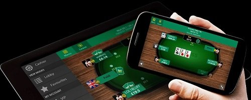Poker on mobile from bet365