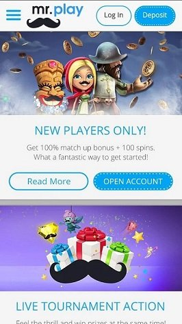 Top titles available at Mr.Play casino