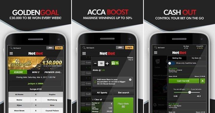 NetBet mobile app review