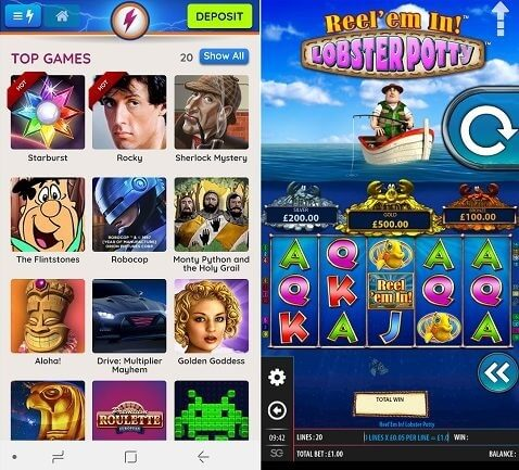 Power Spins mobile casino