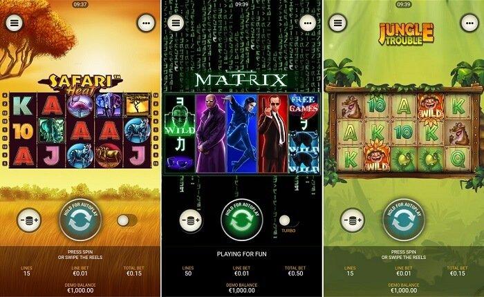 Games from casino.com