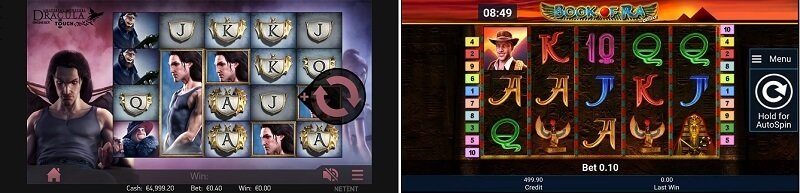 Latest games on the Casumo casino app