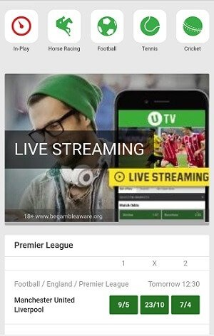 Unibet mobile app download instructions for Android