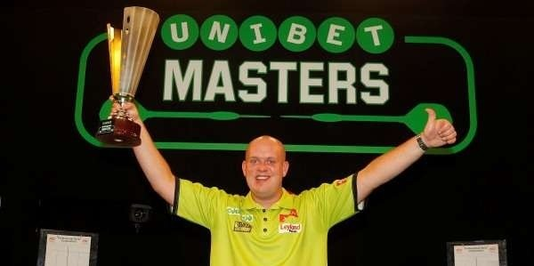 Unibet sponsor the Masters darts
