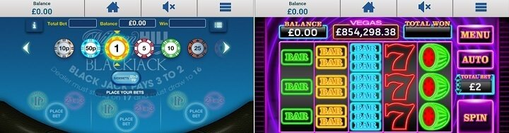 William Hill Vegas - mobile app for Android & iOS