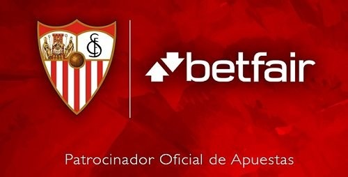 Betfair are betting partners for Seville FC
