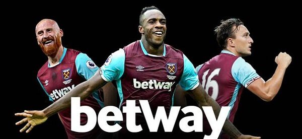 betway sponsor West Ham United