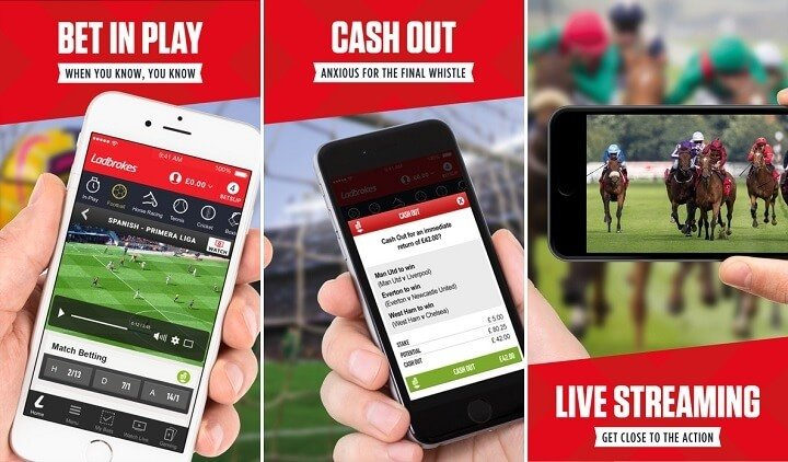 Review of the new iPhone app by Ladbrokes