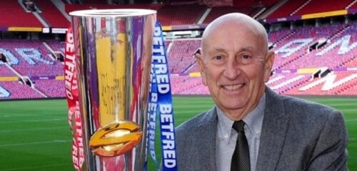 Betfred sponsors of the super league trophy