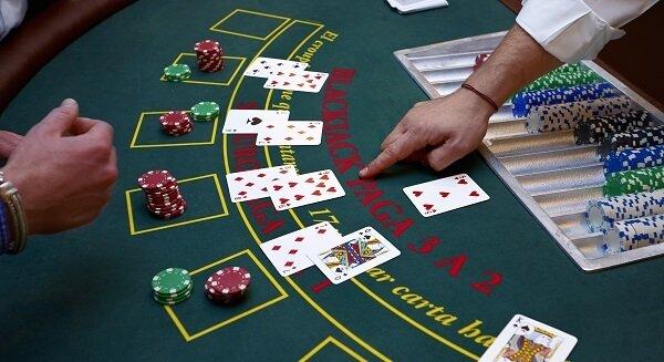 A Blackjack table