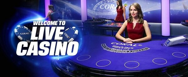 Live casino from Coral