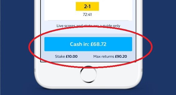 William Hill Cash Out explained