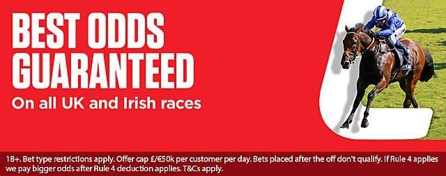 Ladbrokes Horse Racing Best Odds Guarantee
