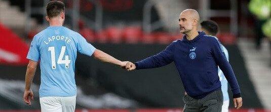 Laporte and Guardiola