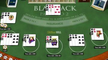 Blackjack William Hill